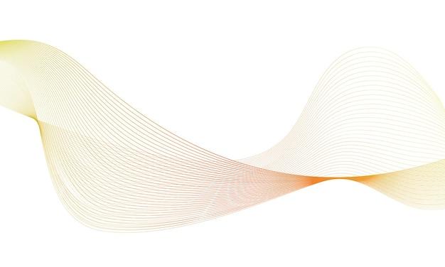 Equalizador de faixa de frequência digital de onda colorida abstrata