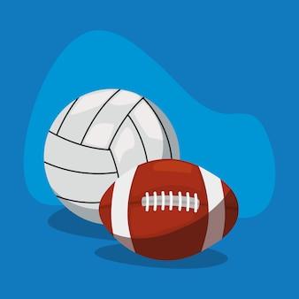 Equipamento de bolas esportivas