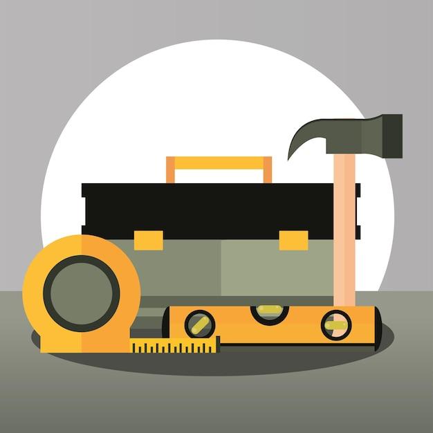 Equipamento de conserto de construção