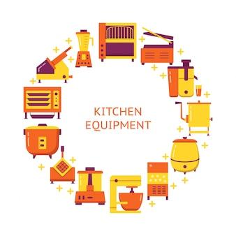 Equipamento de cozinha profissional
