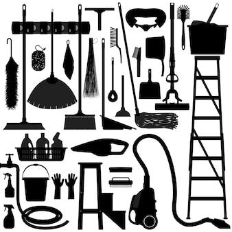 Equipamento de ferramentas para uso doméstico.
