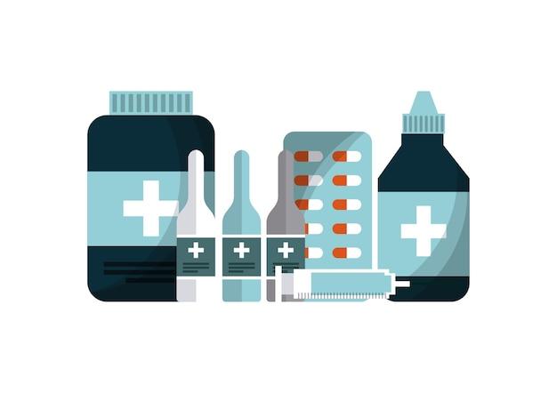 Equipamento de medicina de primeiros socorros