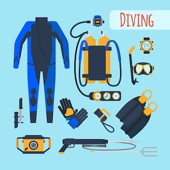 Equipamento de mergulho