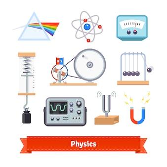 Equipamento de sala de aula de física