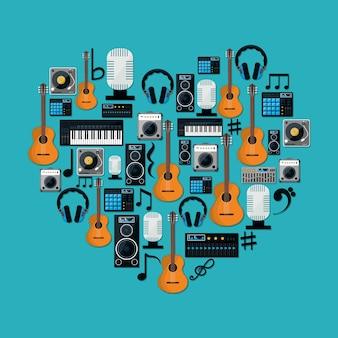 Equipamento de tecnologia de música