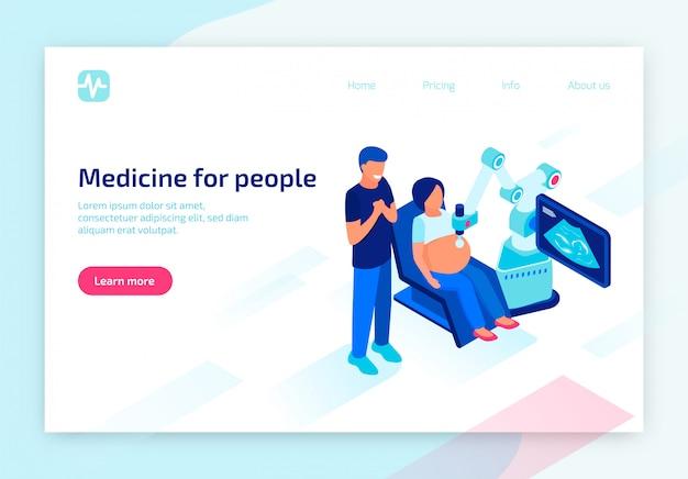 Equipamento digital futuro para diagnóstico médico
