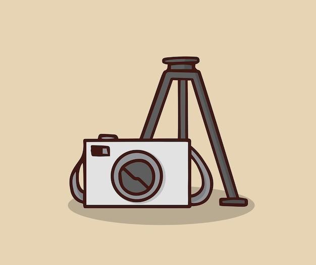 Equipamento fotográfico para as férias