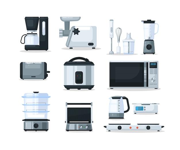 Equipamento para aparelhos eletrônicos de cozinha
