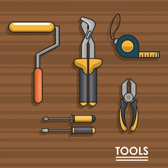 Equipamento para ferramentas de construção