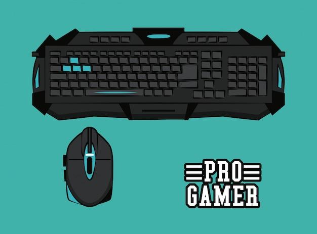 Equipamentos de gamers de computadores