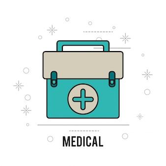 Equipamentos médicos primeiros socorros