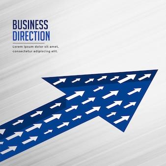 Equipe crescimento seta negócios plano de fundo