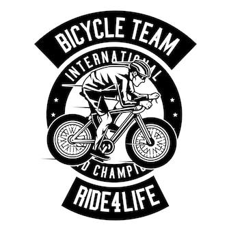 Equipe de bicicleta