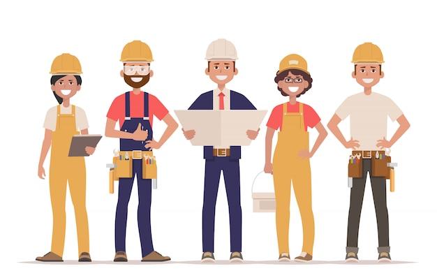 Equipe de construtores