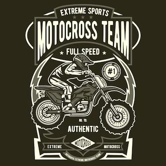 Equipe de motocross