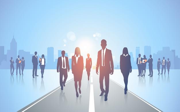 Equipe de pessoas de negócios
