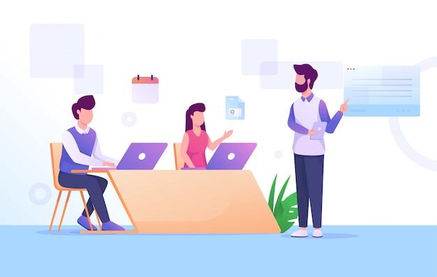 Equipe de reunião