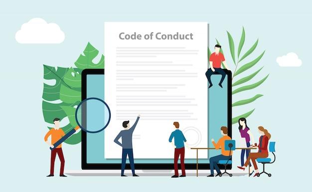 Equipe do código de conduta