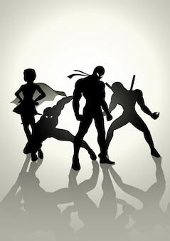 Equipes de super-heróis