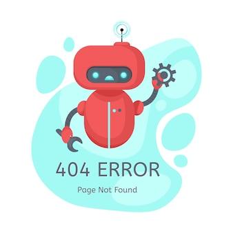 Erro 404 da página não encontrada.
