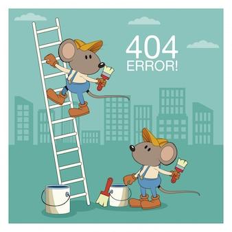 Erro 404 nada foi encontrado banner