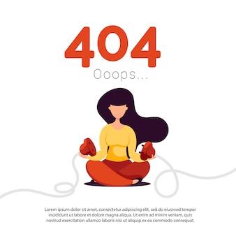 Erro 404 página não encontrada.