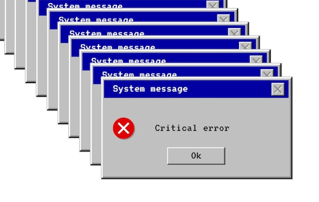 Erro crítico