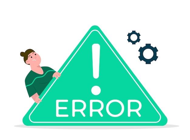Erro de página da web