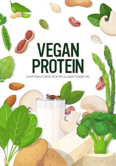 Ervas vegetais vegetais à base de leite de tofu leite orgânico livre composição natural de alimentos crus vegan proteína conceito vertical cópia espaço