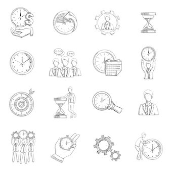 Esboço de gerenciamento de tempo