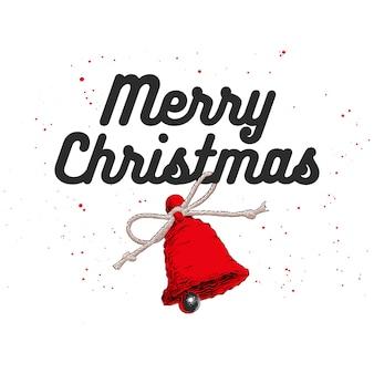 Esboço de mão desenhada natal e ano novo feriado