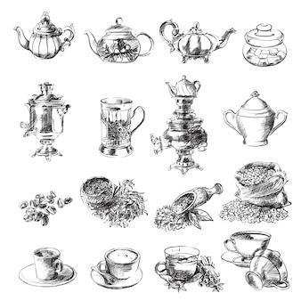 Esboços de chá