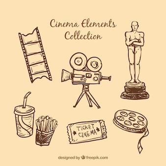 Esboços elementos essenciais do cinema