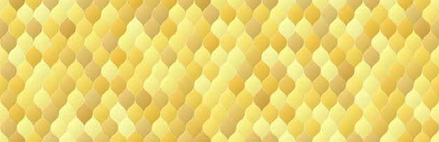 Escama de ouro brilhante de cor gradiente molda o fundo sem emenda