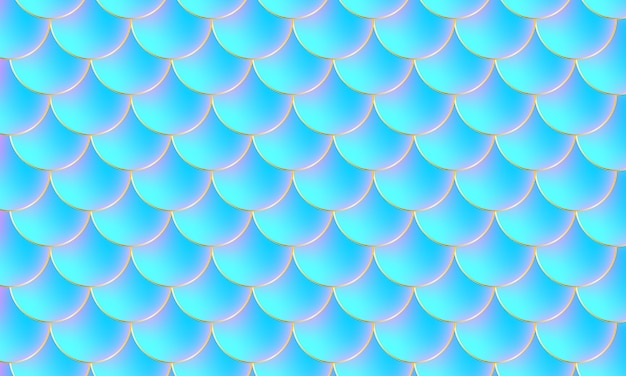 Escamas de sereia. escama de peixe. padrão de escala.