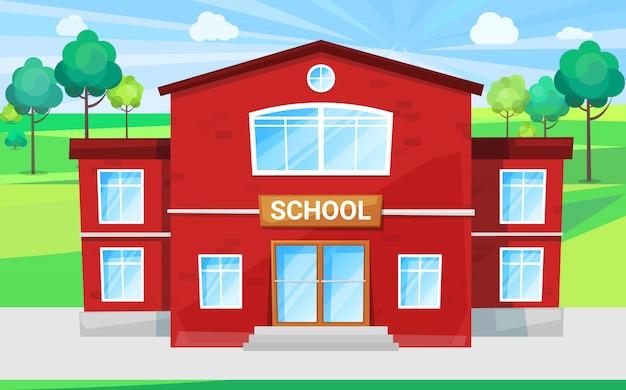Escola de crianças, lugar para educar alma mater