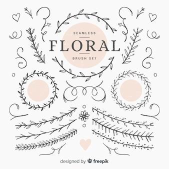 Escovas florais