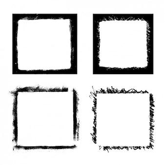 Escovas quadrados