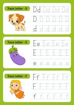 Escrevendo cartas com animais para crianças