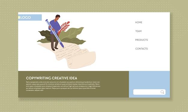 Escrevendo redação de conteúdo e marketing na web