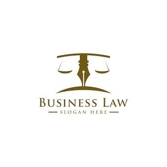 Escritório de advocacia, serviços de advogados, logotipo vintage de crista de luxo