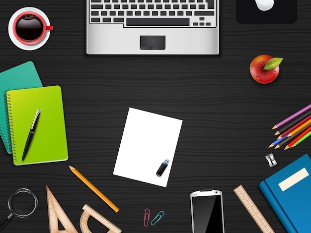 Escritório de negócios e espaço de trabalho