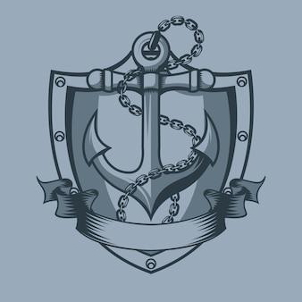 Escudo de ancoragem
