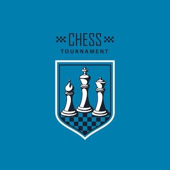 Escudo do jogo de xadrez