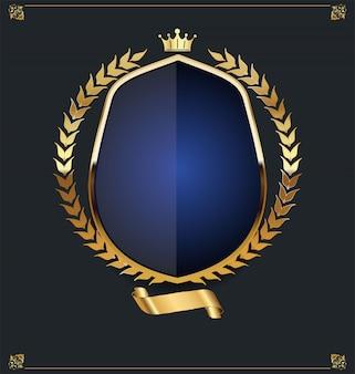 Escudo dourado