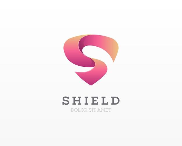 Escudo letra s logotipo