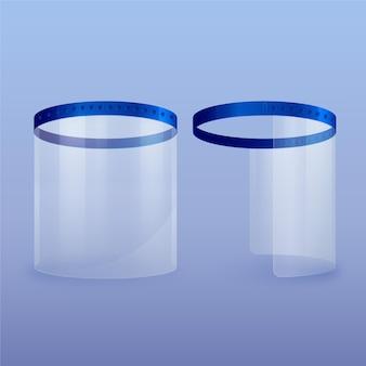 Escudo plástico realista