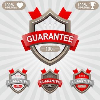 Escudos de qualidade premium