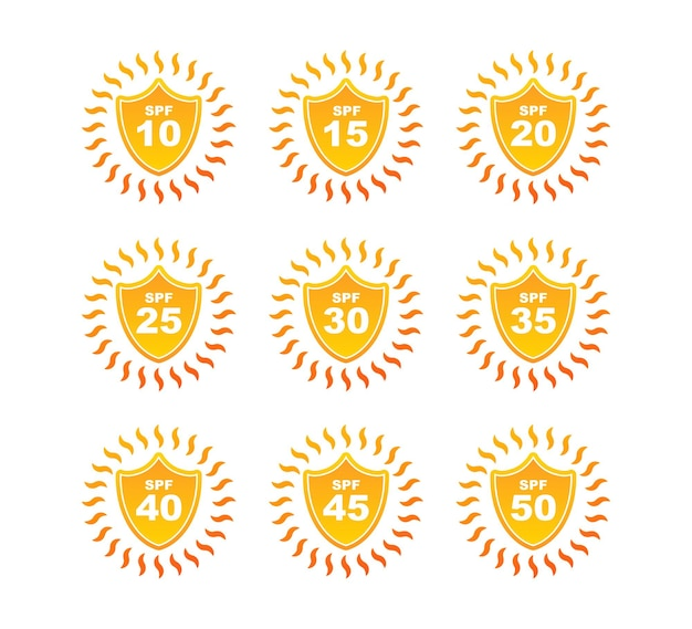 Escudos de radiação ultravioleta, ótimo design para qualquer finalidade