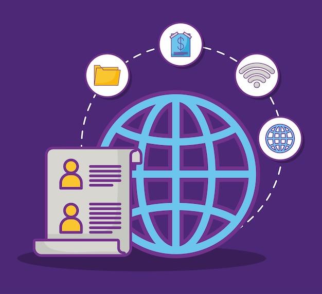 Esfera global e documento